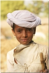 Indian village boy